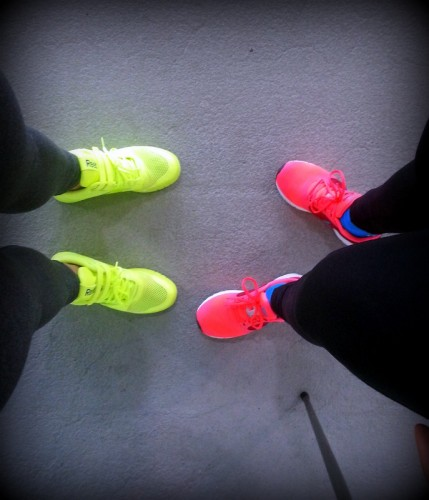 Valmiina treenaamaan! :)