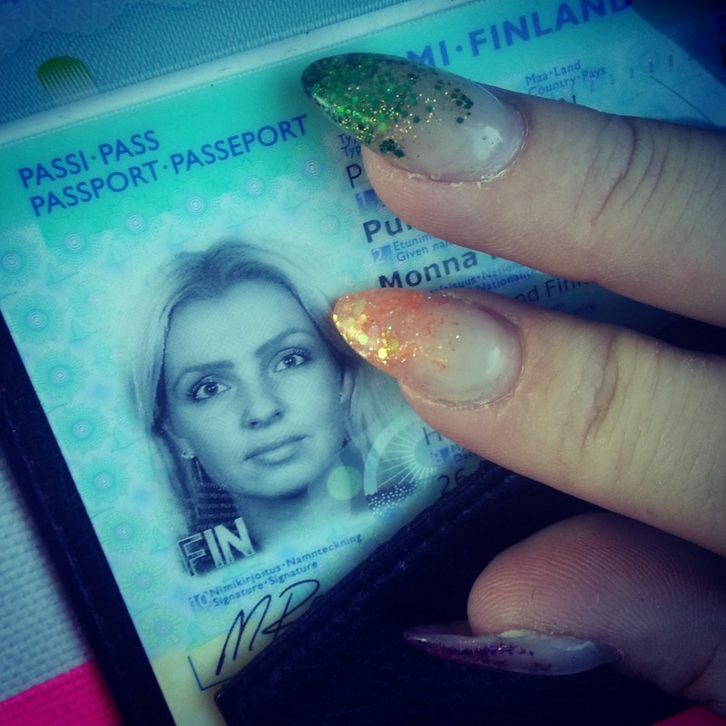 Mites tää mun passikuva?! :D
