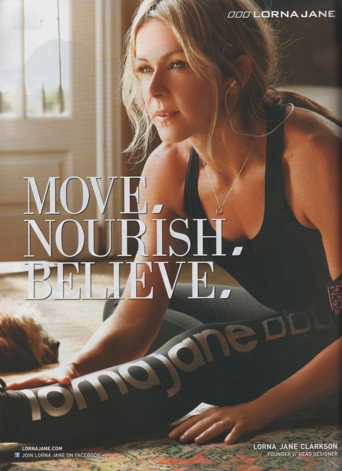 MOVE * NOURISH * BELIEVE