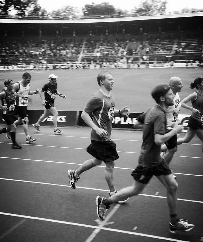 Tuukan toinen Tukholman maraton, olisko ollut vuonna 2014. <3