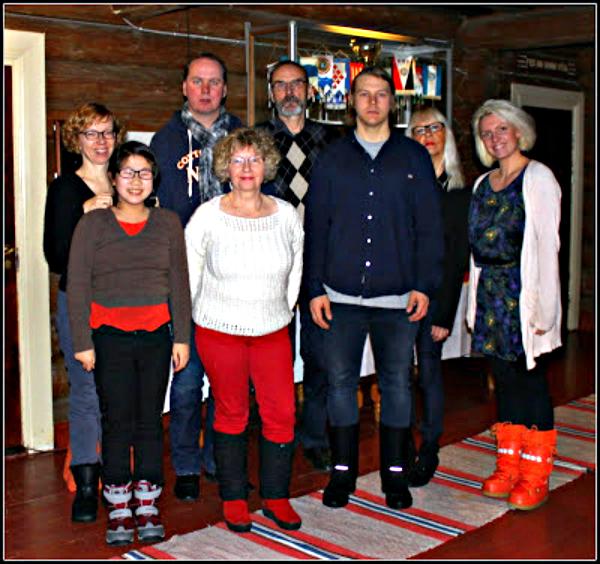 Yksi joulu vietettiin Nurmeksessa koko perheen voimin. <3