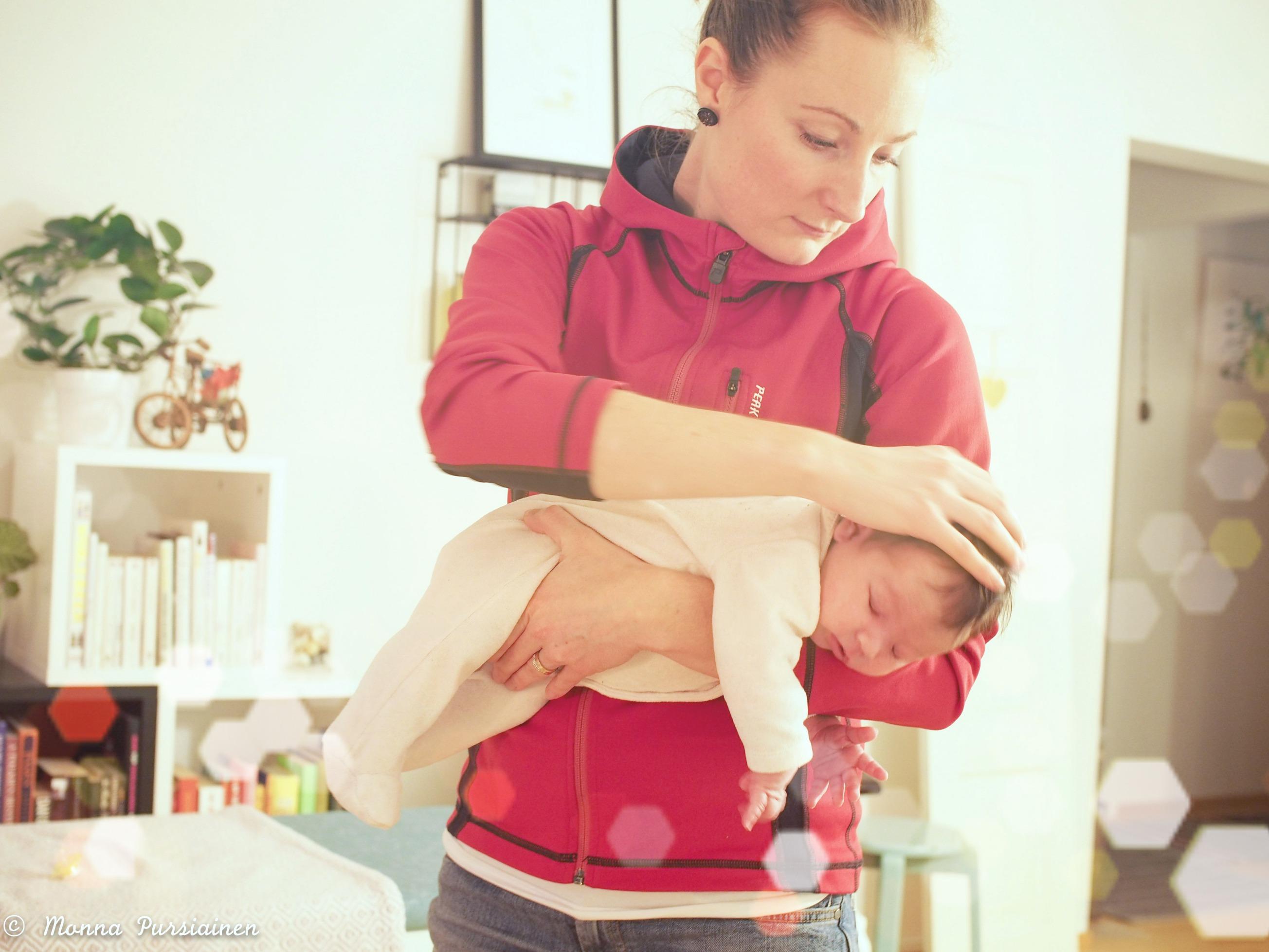 Osteopatiaa vauvalle ❤️