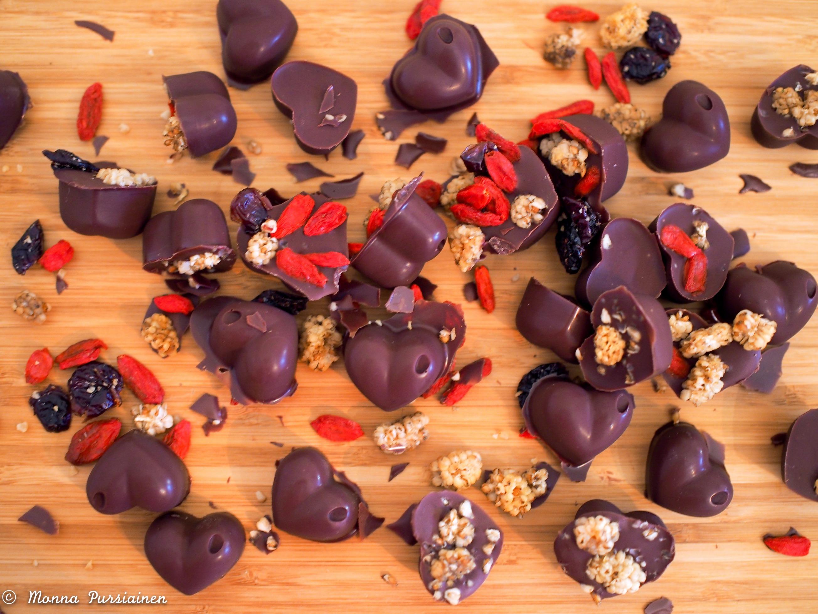 Herkullista suklaata!