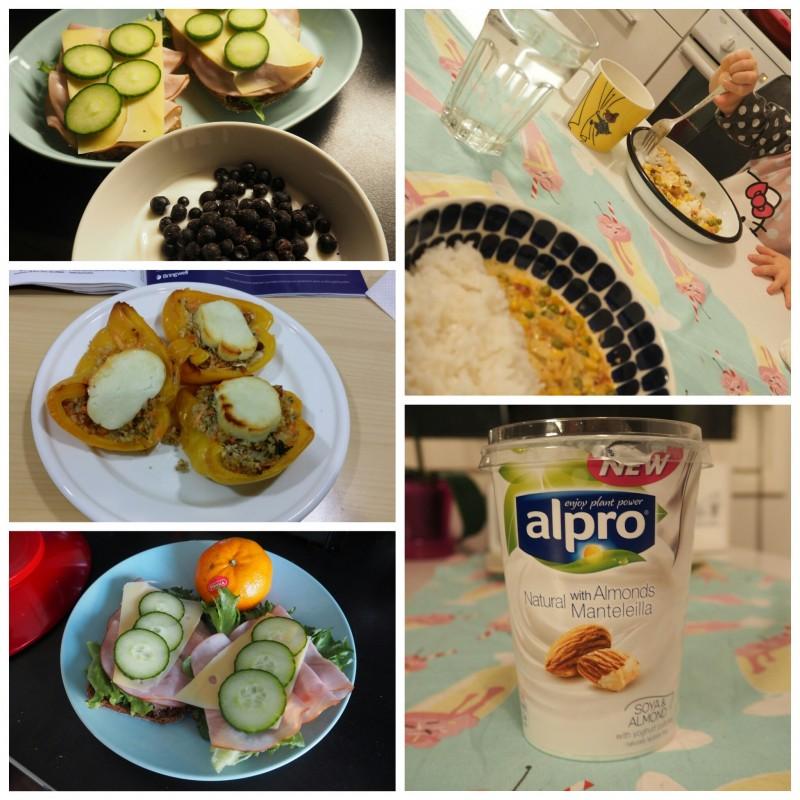 Massiton maaliskuu: toisen kituviikon ruokapäiväkirja