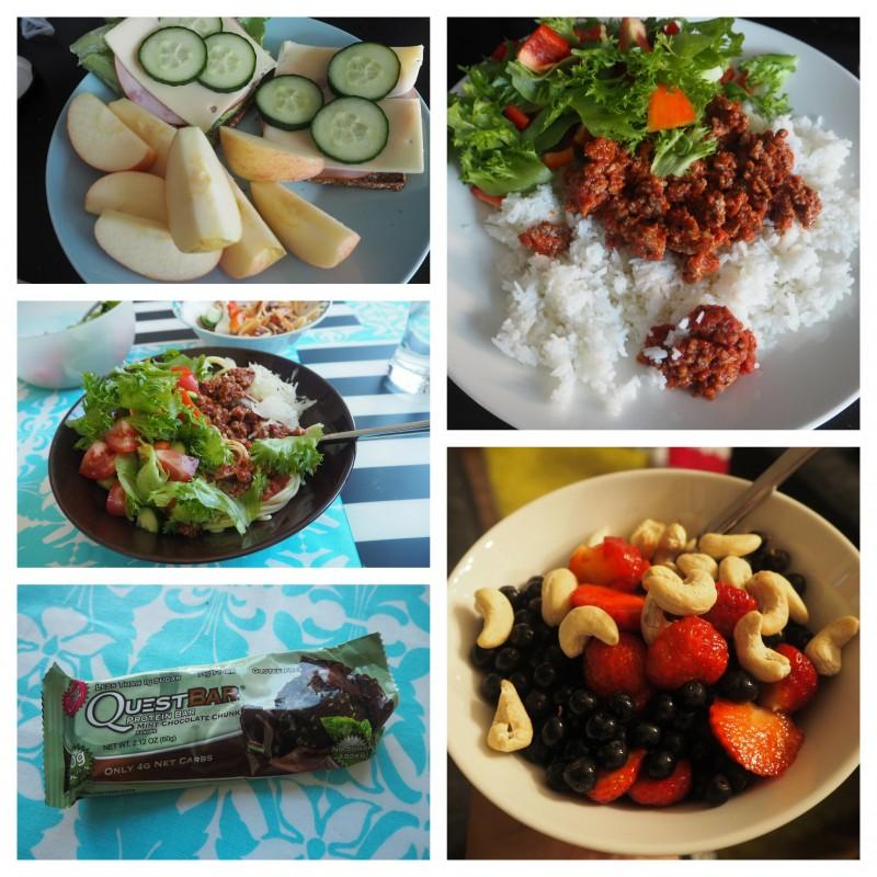 Tokavika lomaviikko - ruokapäiväkirjaa!