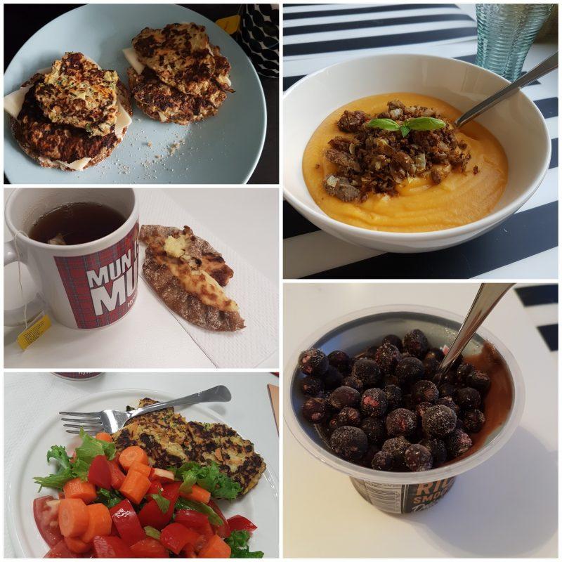 viikon 33 ruokapäiväkirja