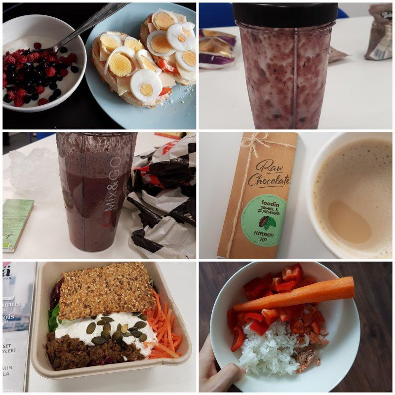 viikon 34 ruokapäiväkirja