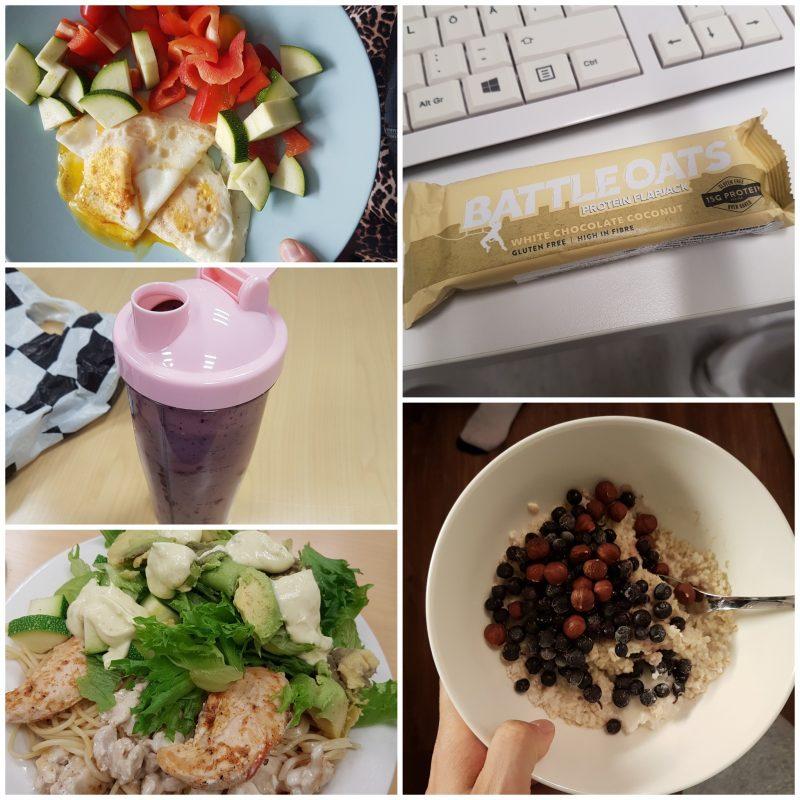 viikon 36 ruokapäiväkirja