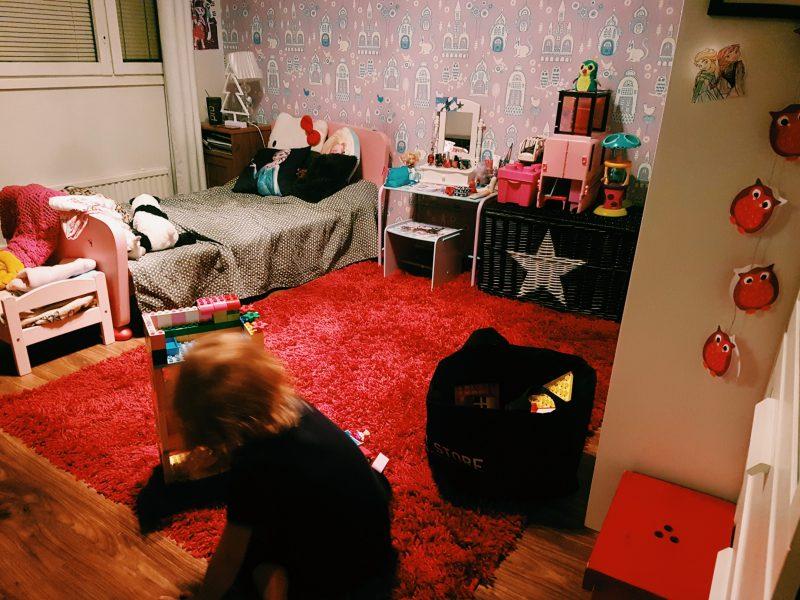 Lastenhuoneen tehosiivous 30 minuutissa