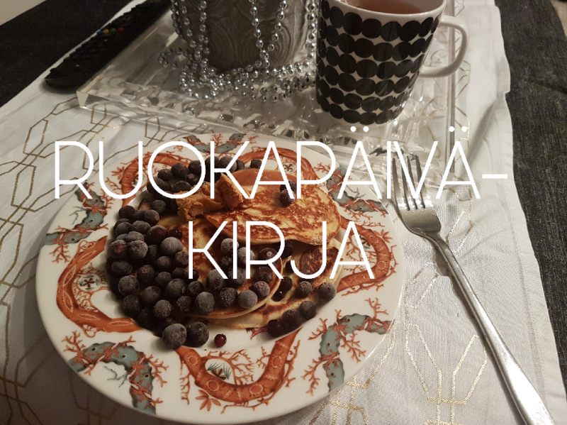 Viikon 51 ruokapäiväkirja - Jouluruokia, nam!