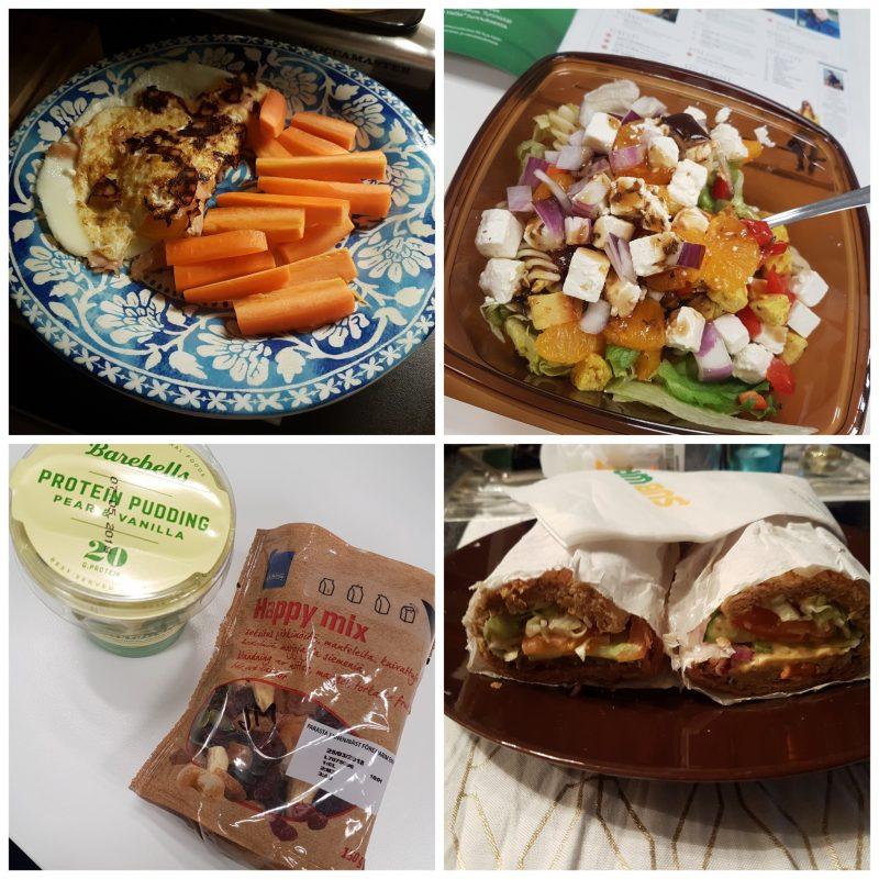 viikon 4 ruokapäiväkirja