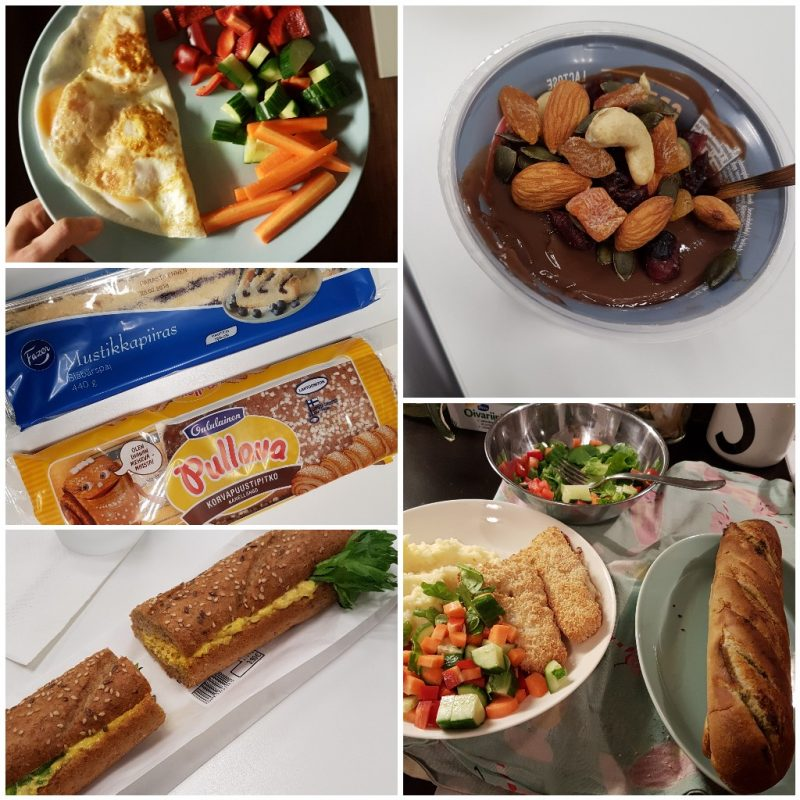 viikon 8 ruokapäiväkirja