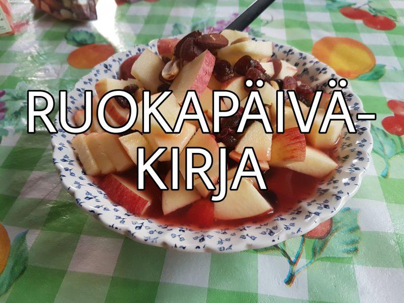 Viikon 24 ruokapäiväkirja - vegedogia Särkänniemessä