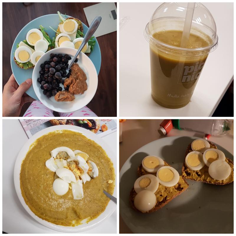viikon 41 ruokapäiväkirja