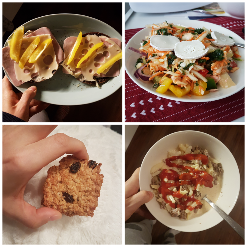 viikon 46 ruokapäiväkirja