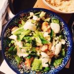 Salaattihommia eli kana-couscoussalaatti