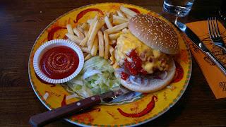 Amarillon burgerit testissä