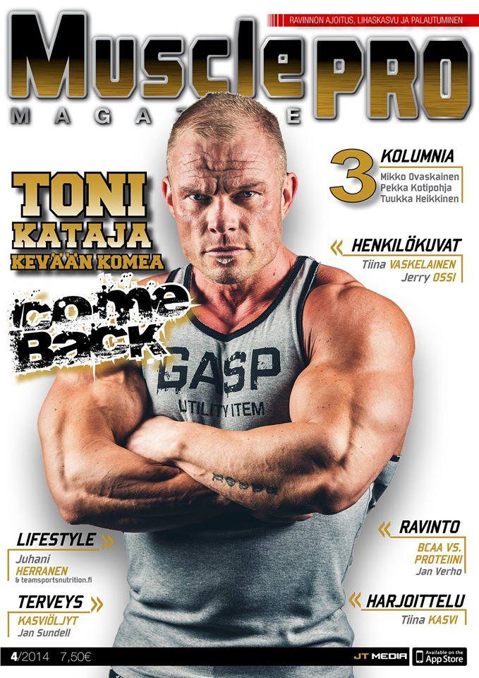 MusclePro, FitBODY, CrossTraining Magazine - Voita vuosikerta!
