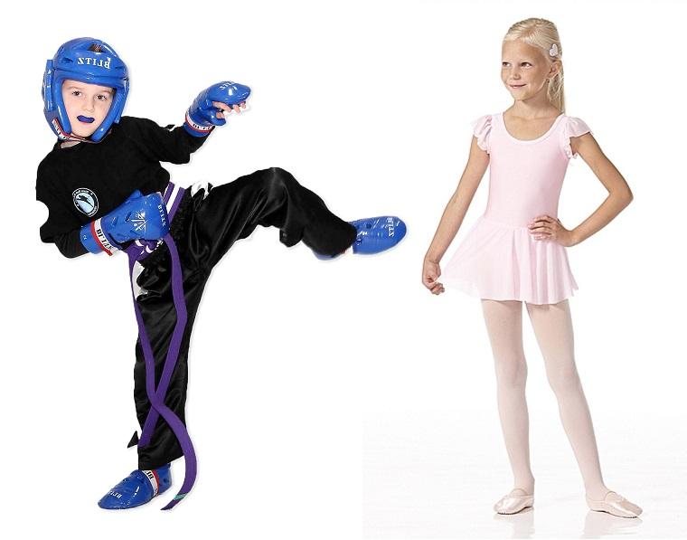 Lapselle harrastus - baletti vai kickboxing?