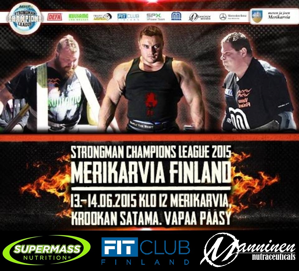 Strongman champions league 2015 Merikarvia!