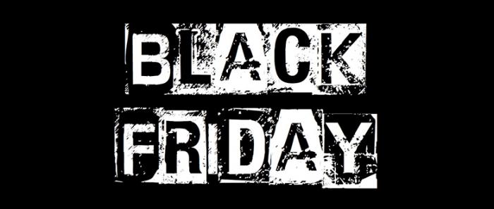 BLACK FRIDAY! - Tarjouksia tarjousten perään!