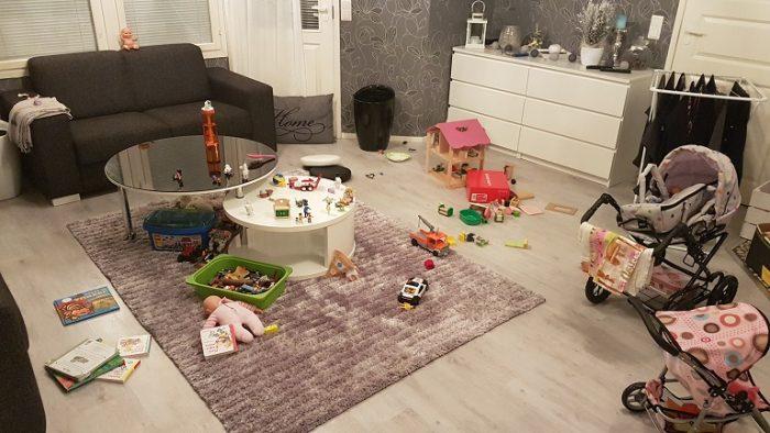 Lapsiperheen siisti koti - utopiaako?