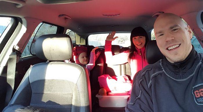 Autoilu lapsiperheessä