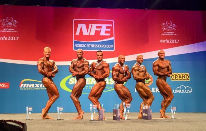 Nordic Fitness Expo - Lauantain SM-kisojen tulokset