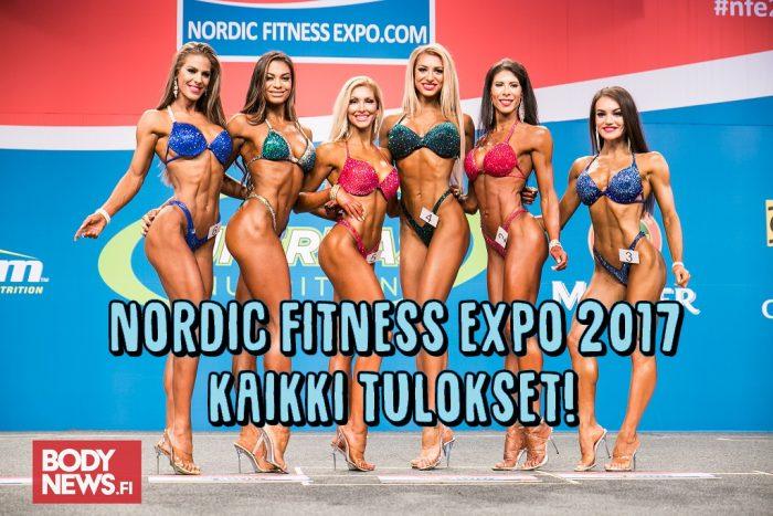 Nordic Fitness Expo 2017 - KAIKKI tulokset!