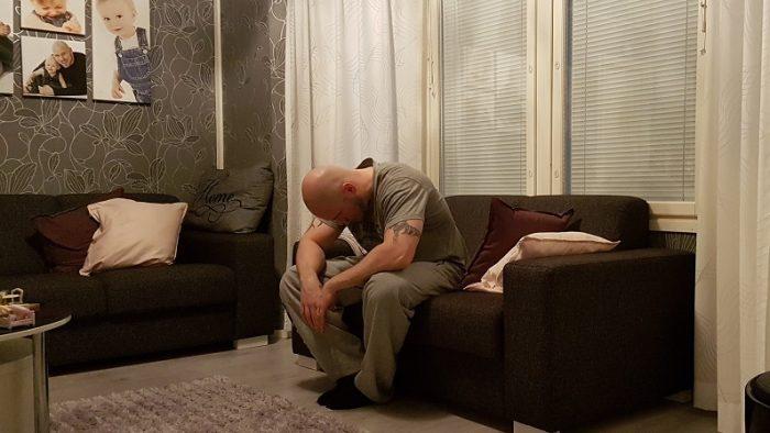 Isi on vähän väsynyt...