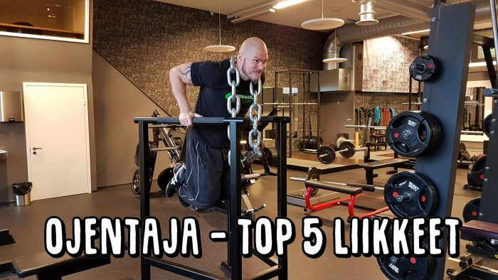 TOP 5 treeniliikkeet - Ojentaja