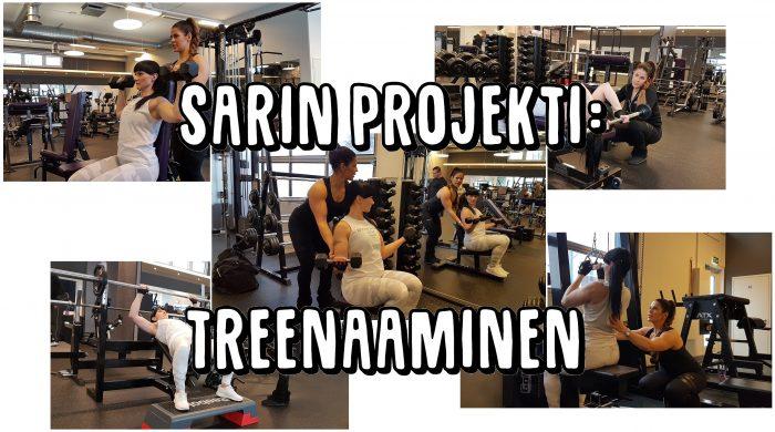 Sarin projekti - treenaaminen