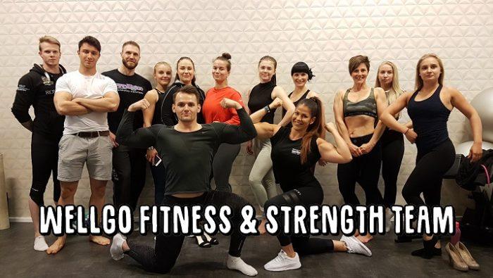WellGo Fitness & Strenght Team tiimipäivä