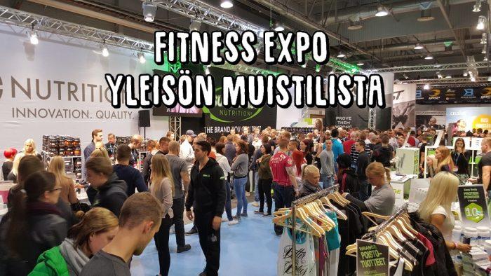 Kohti Fitness Expoa - Yleisön muistilista