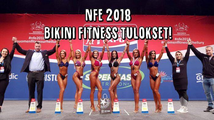 NFE 2018 - Bikini Fitness SM tulokset!