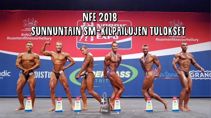 NFE 2018 - Sunnuntain SM-kilpailujen tulokset!