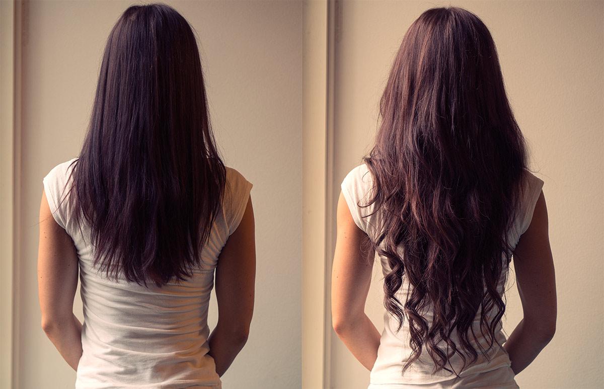 Ennen ja jälkeen – hiustenpidennykset – Ida Jemina  695babf6ec