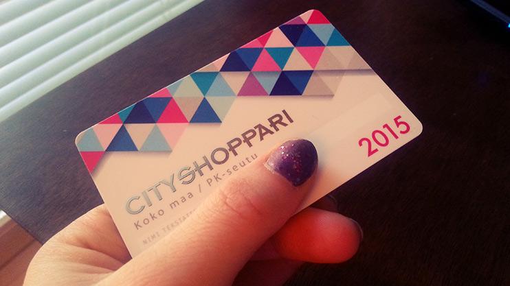 cityshoppari-kortti