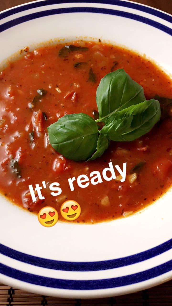 Maailman maukkain tomaattikeitto