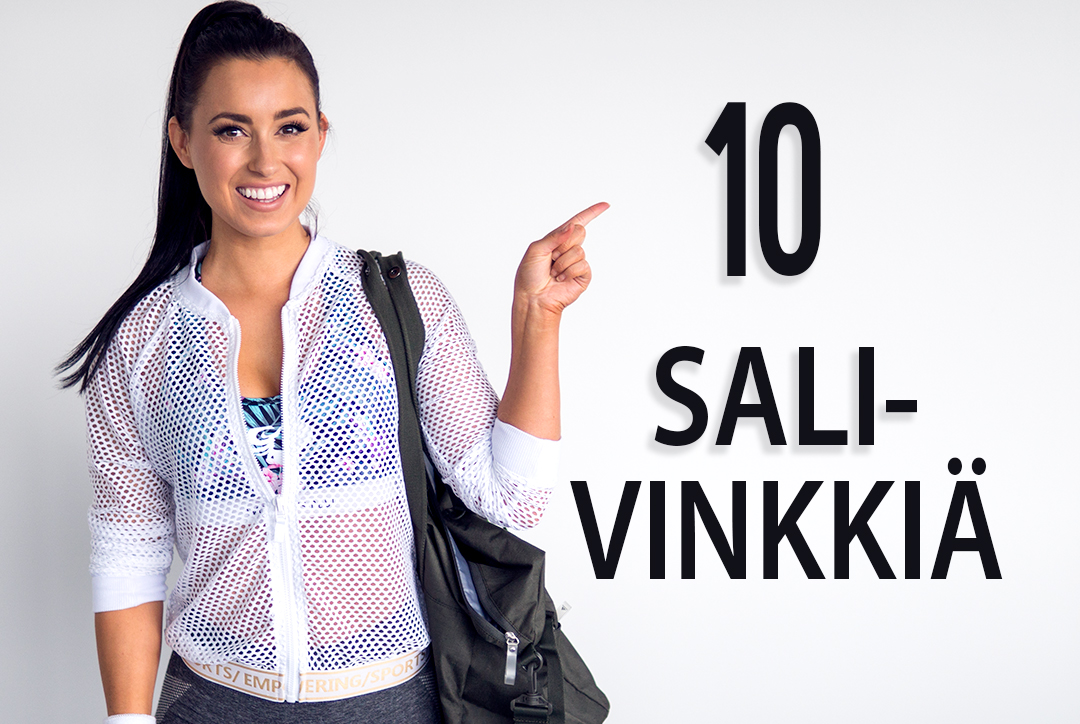 10 RANDOM SALIVINKKIÄ - NAPPAA TALTEEN!