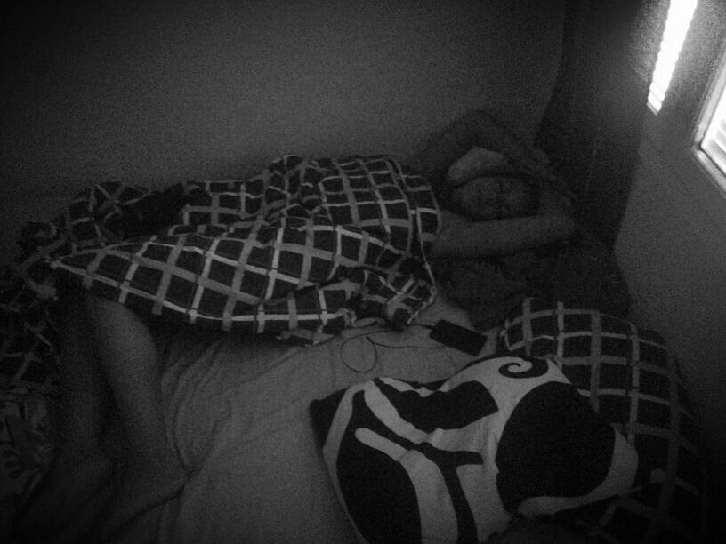 Meikä ja meikän nukkuma-asennot. Wannabe ballerina!