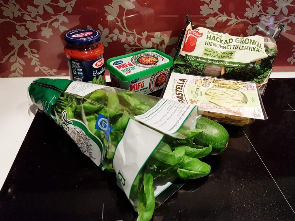 mifuinen pastaresepti