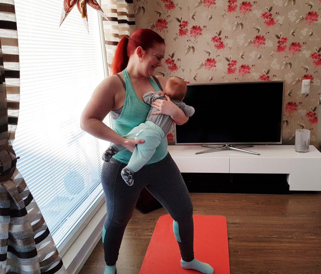 Äidin oma Pilates ja sen tuomat edut synnytyksen jälkeen