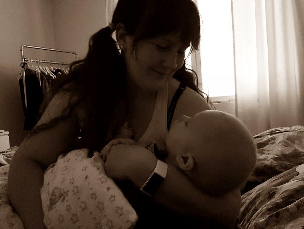 Ilta- / nukkumaanmenorutiinit vauvan kanssa