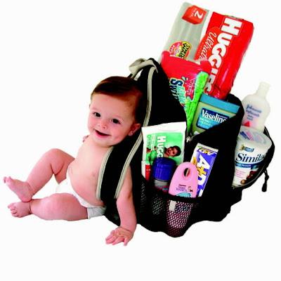 Vauvan kanssa ekaa kertaa reissuun + Dietin aloitus= Apua!