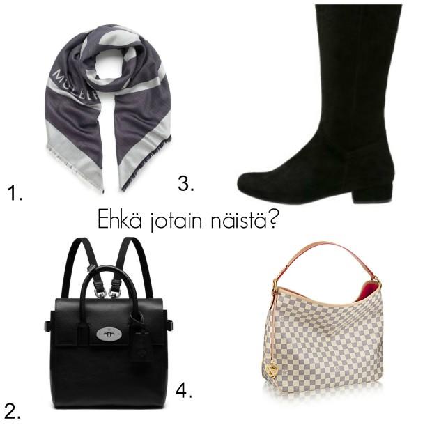Shoppailulista Helsinkiin