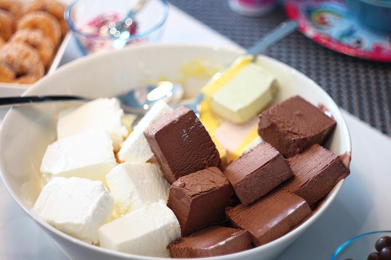 jäätelöä