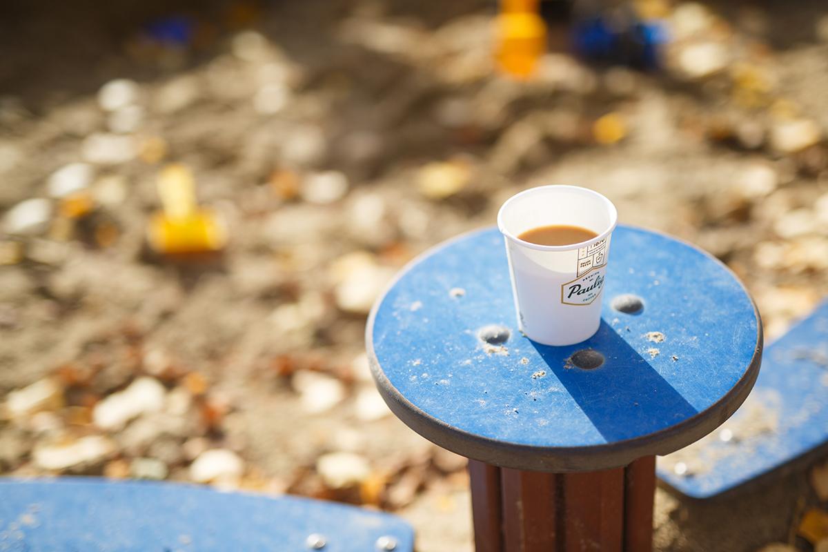 kahvileikkipuistossa