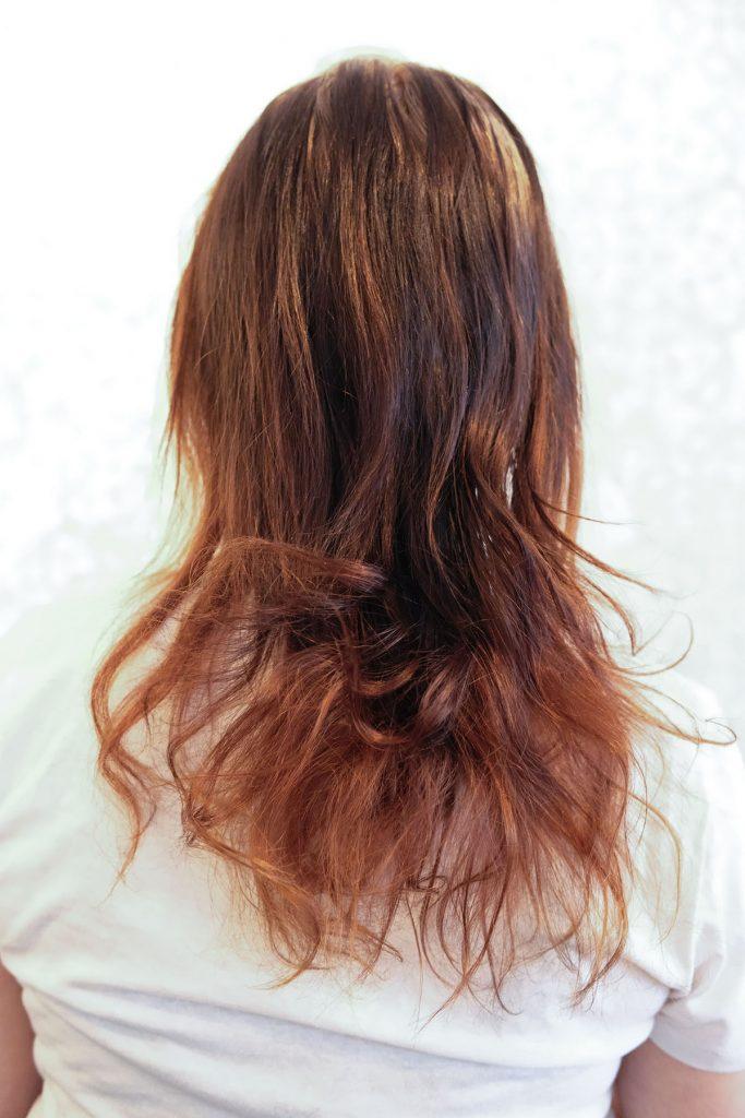 Hyvästi Housewifen hirveät hiukset!
