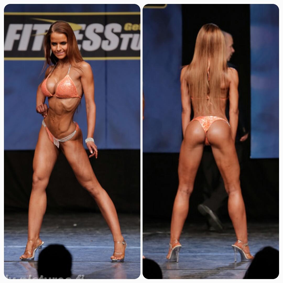 Fitness Classic 2014, Bikini Fitness Juniorit ja vuoden ensimmäinen kilpailu 4.sija